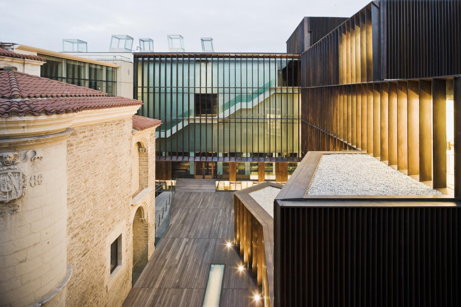 Museo de Arqueología de Álava. Vitoria-Gasteiz, 2001–2009. Foto: Pedro Pegenaute