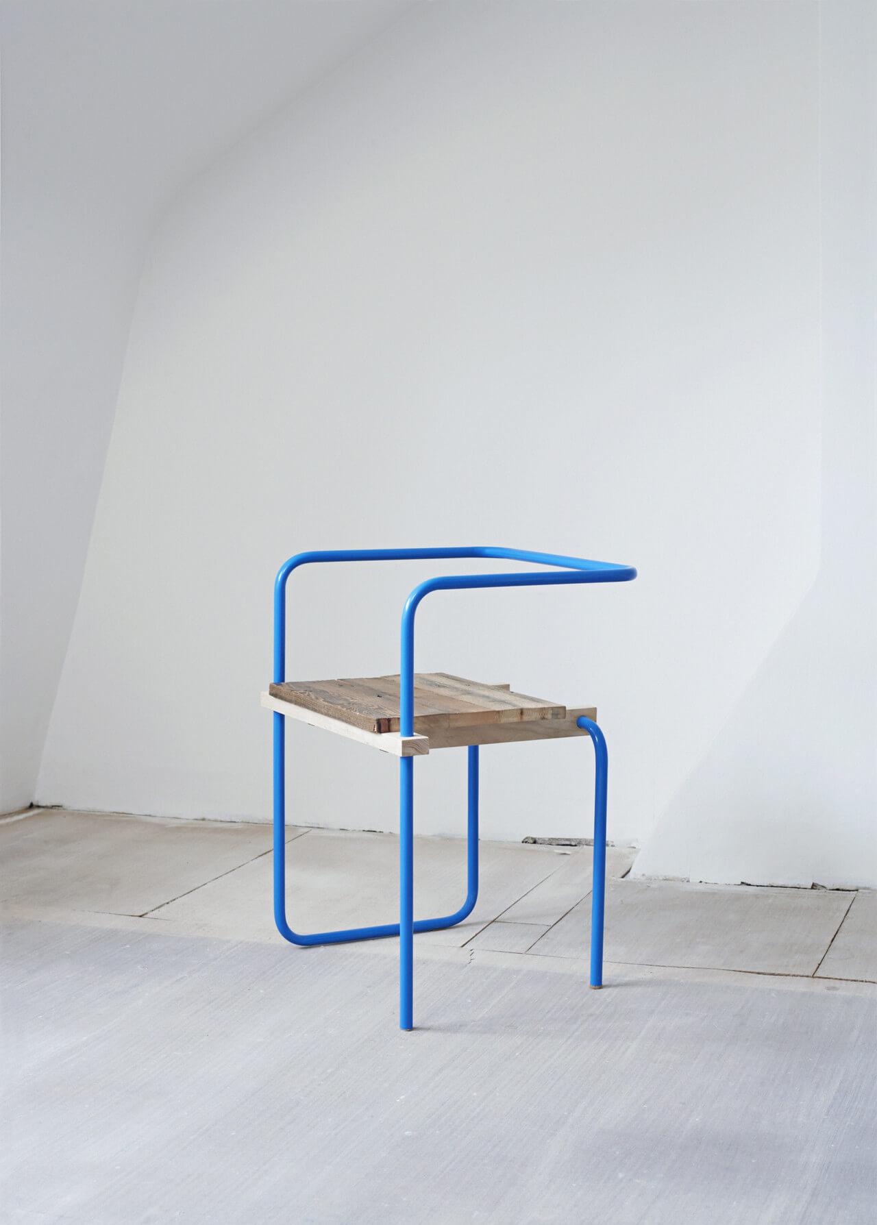 «Silla», de la serie V&A Chairs, 2009. Victoria & Albert Museum—Somerset House, Londres. Foto: Nick Ballon