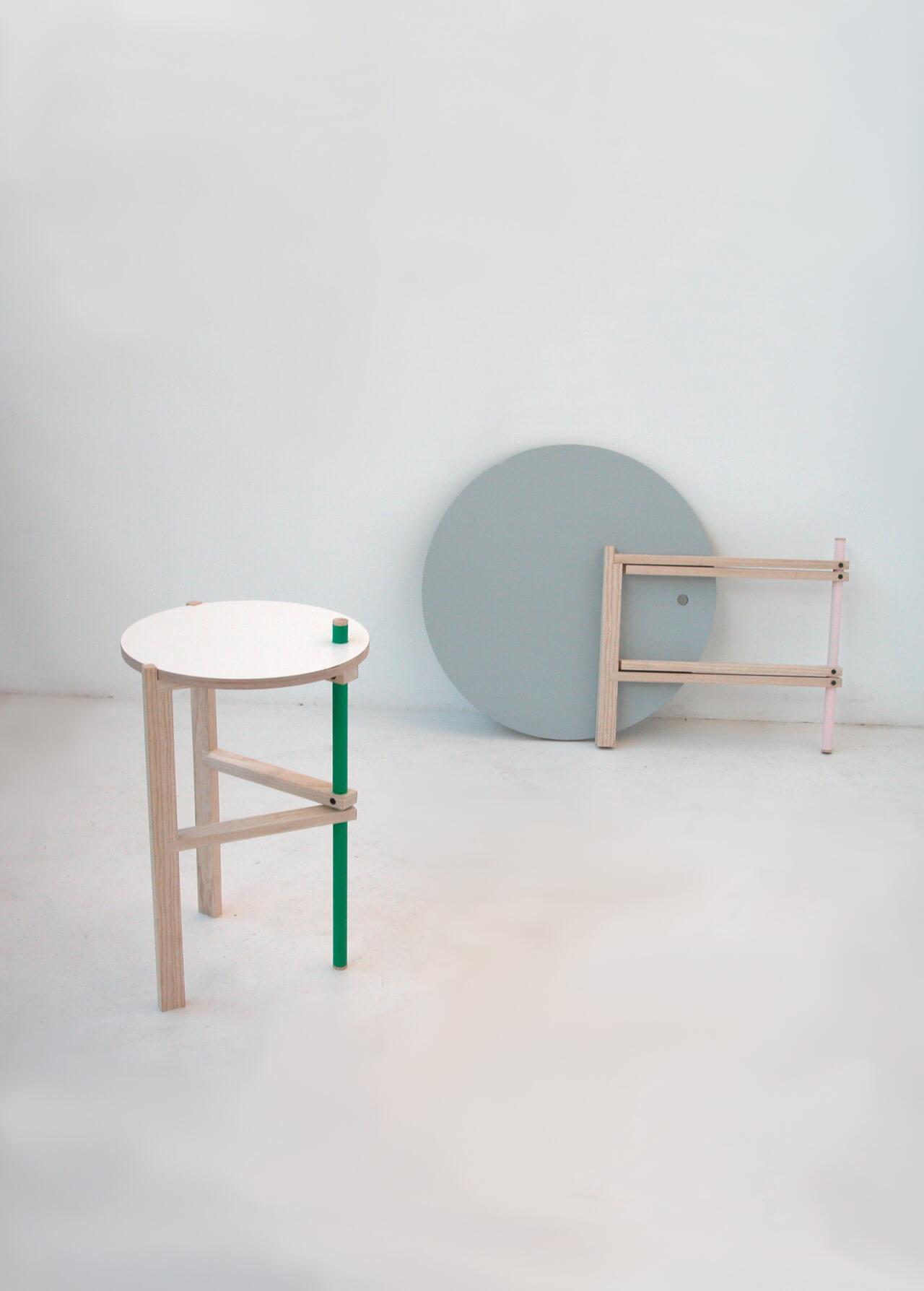 «Mesa», de la serie A-Side Tables, 2010