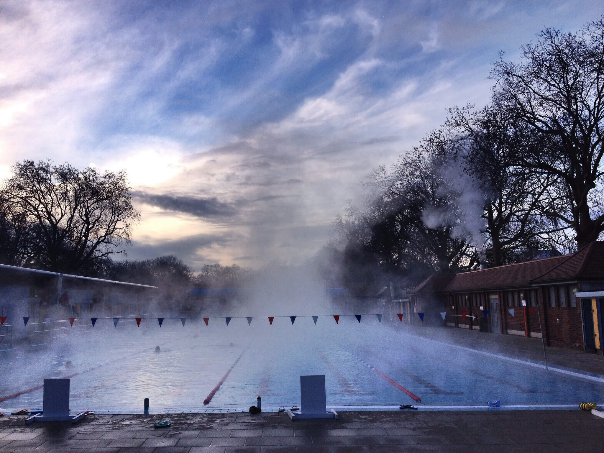 London Fields Lido. Londres, 2016. Foto: Tomás Alonso