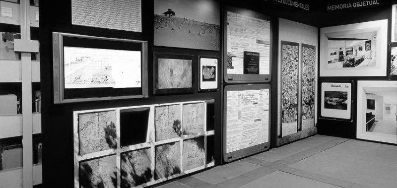 Vista  exposición  Archivo  de  archivos  (1998–2006).Centre  d'Arte  la  Panera,  Lleida,  2006