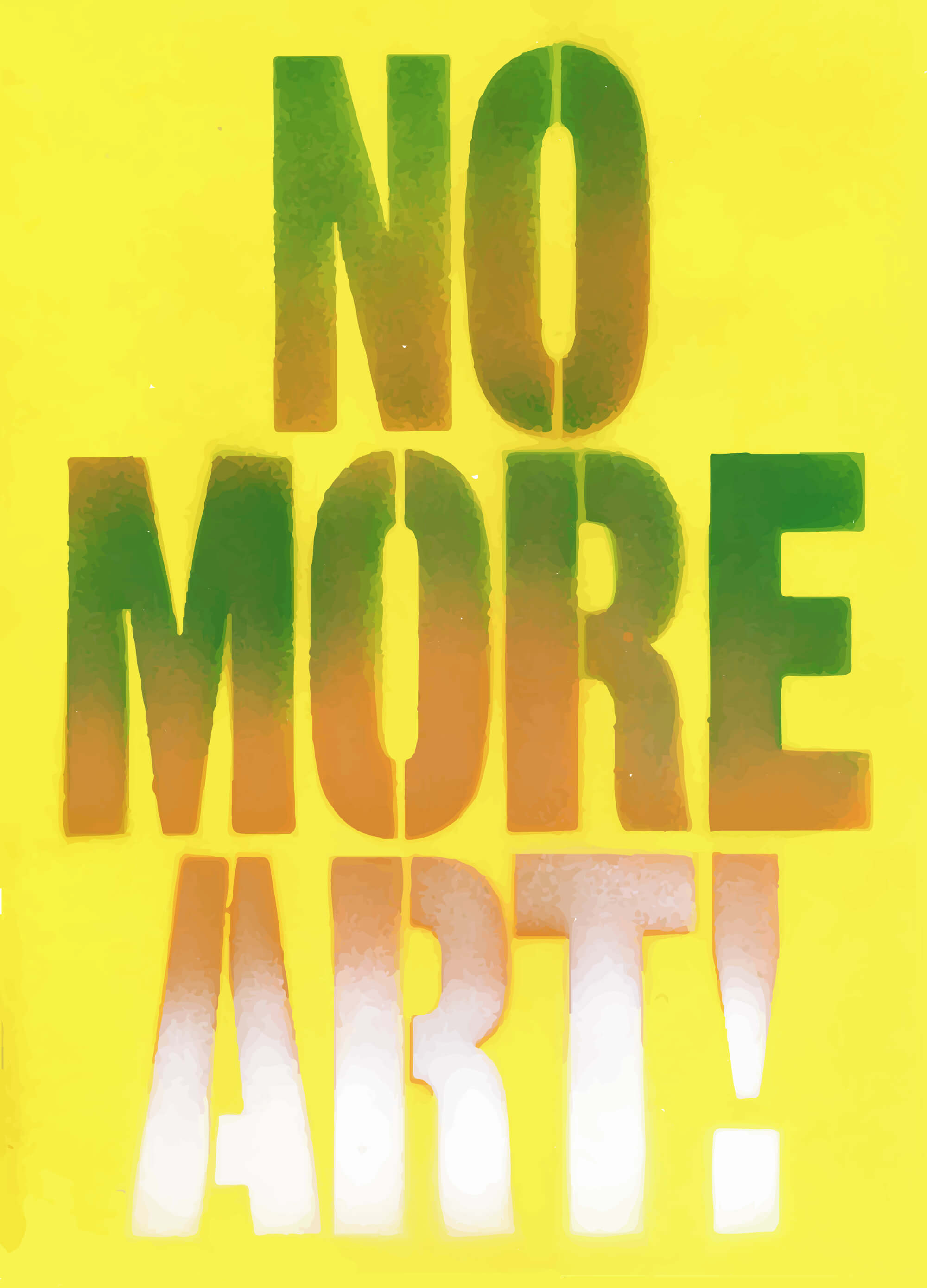 Henry Flynt: No More Art!. 1963